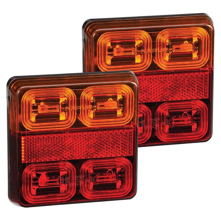Narva 12V Square LED Slimline Indicator Lamps