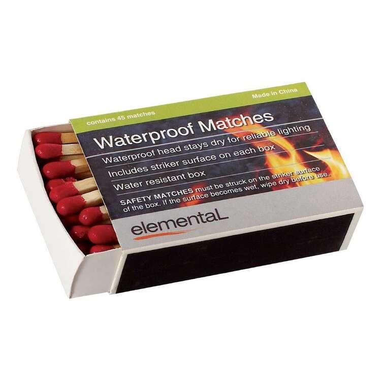 Elemental Waterproof Matches 4 Pack
