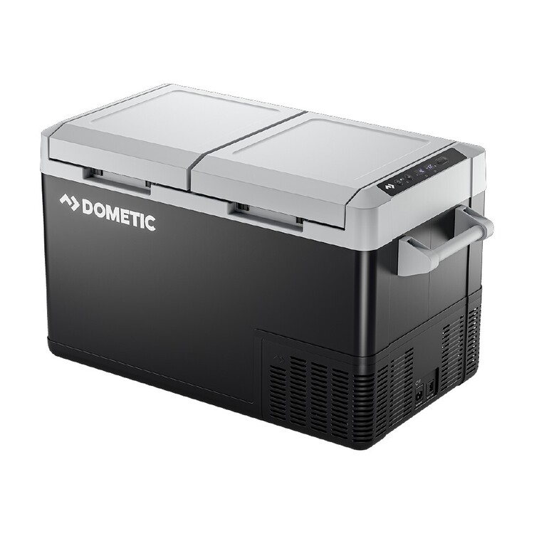 Dometic CFF70DZ Portable Dual Zone Fridge & Cover Pack Grey