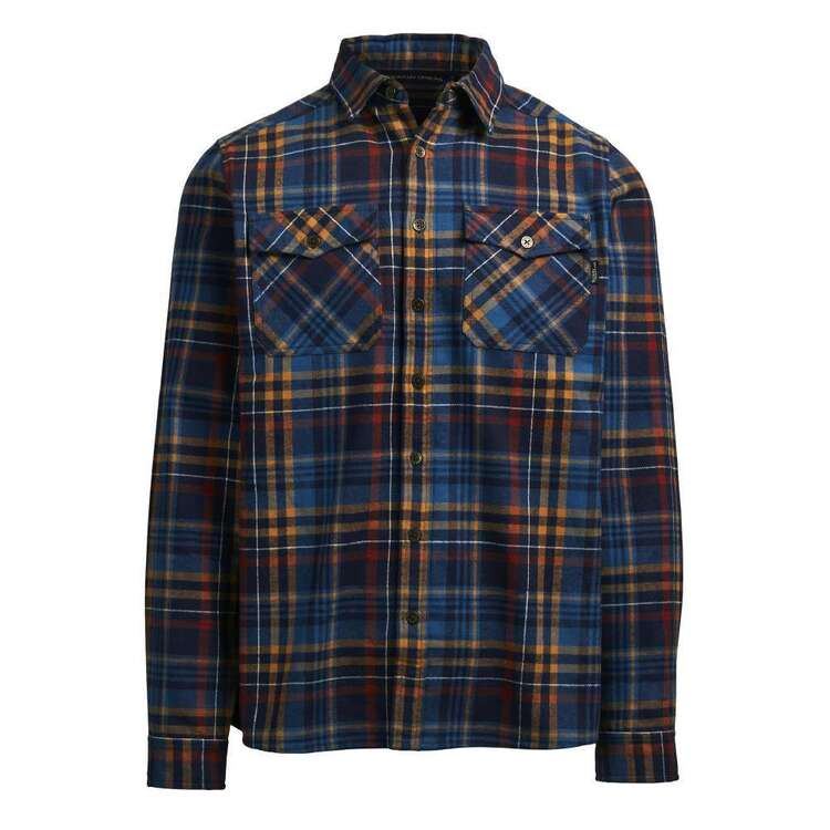 Men's Robinson Long Sleeve Shirt Navy