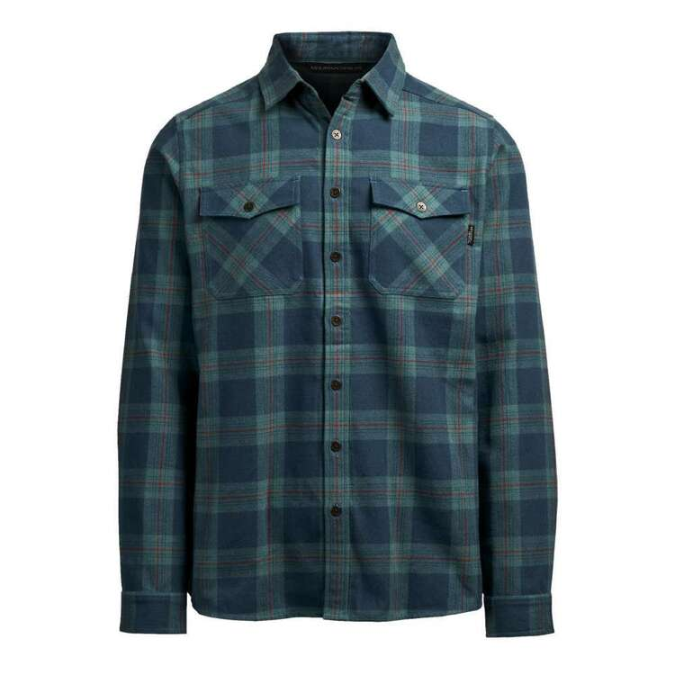 Men's Robinson Long Sleeve Shirt Teal