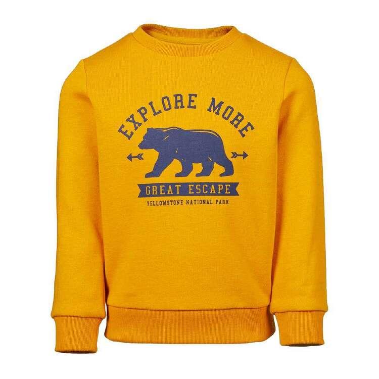Cape Kids' Bear Crew Neck Fleece Top