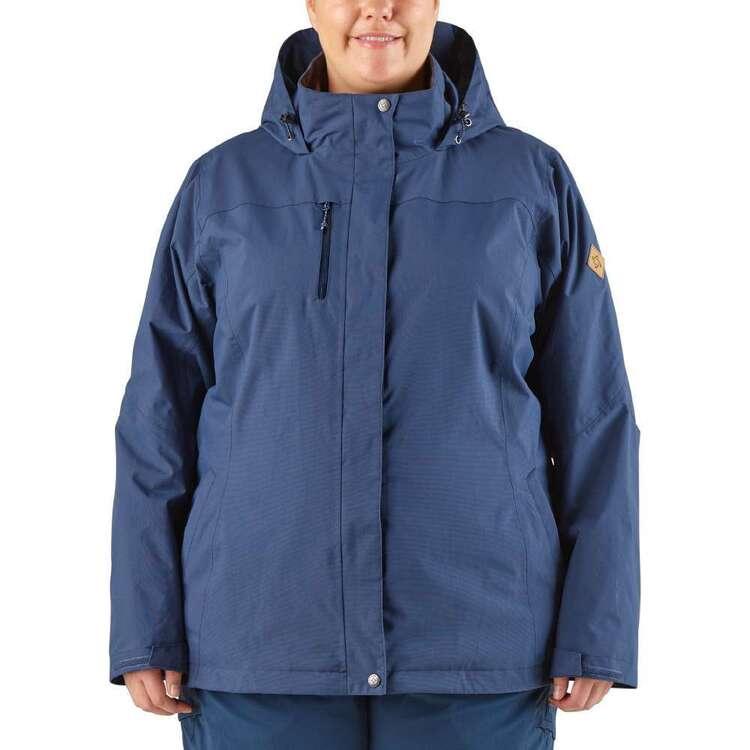 Gondwana Women's Wynnum 3 in 1 Jacket Plus Size