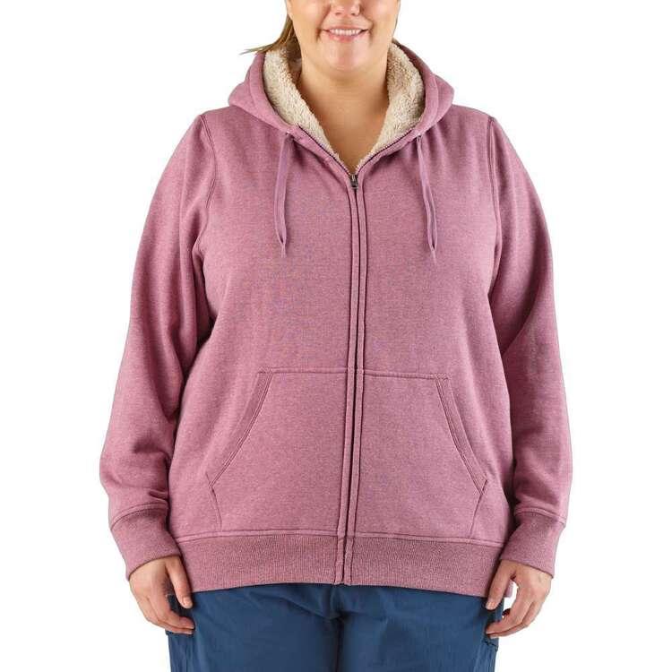 Cape Women's Kassidy Sherpa Lined Fleece Top Plus Size