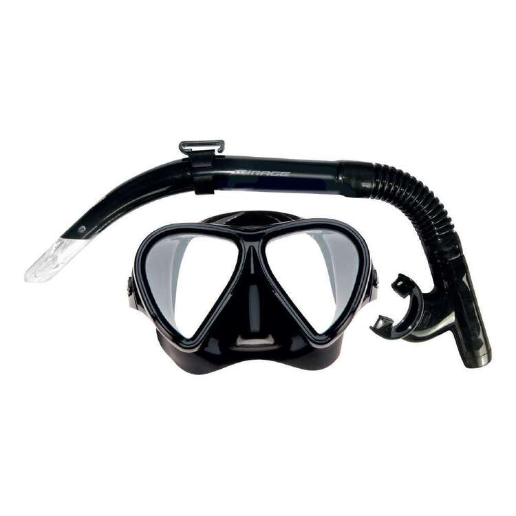 Mirage Stealth Adults Mask & Snorkel Set