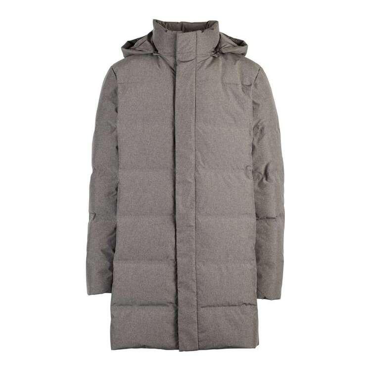 Cape Men's Long Line Puffer Jacket