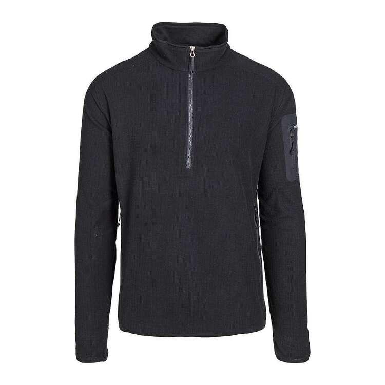 Cederberg Men's 1/2 Pinnacle Micro Grid Fleece Top