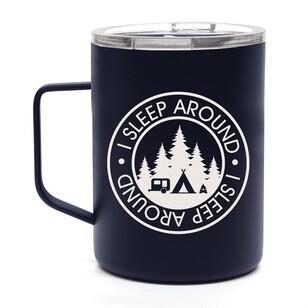 "OZtrail ""Sleep Around"" Double Wall Stainless Steel Mug"