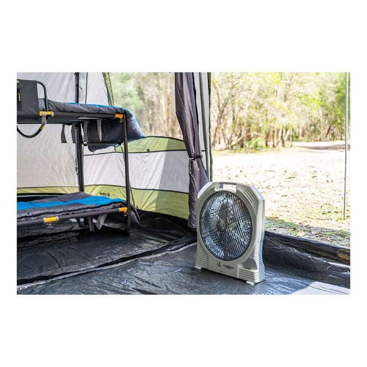 Companion Rechargeable Oscillating 35cm Fan