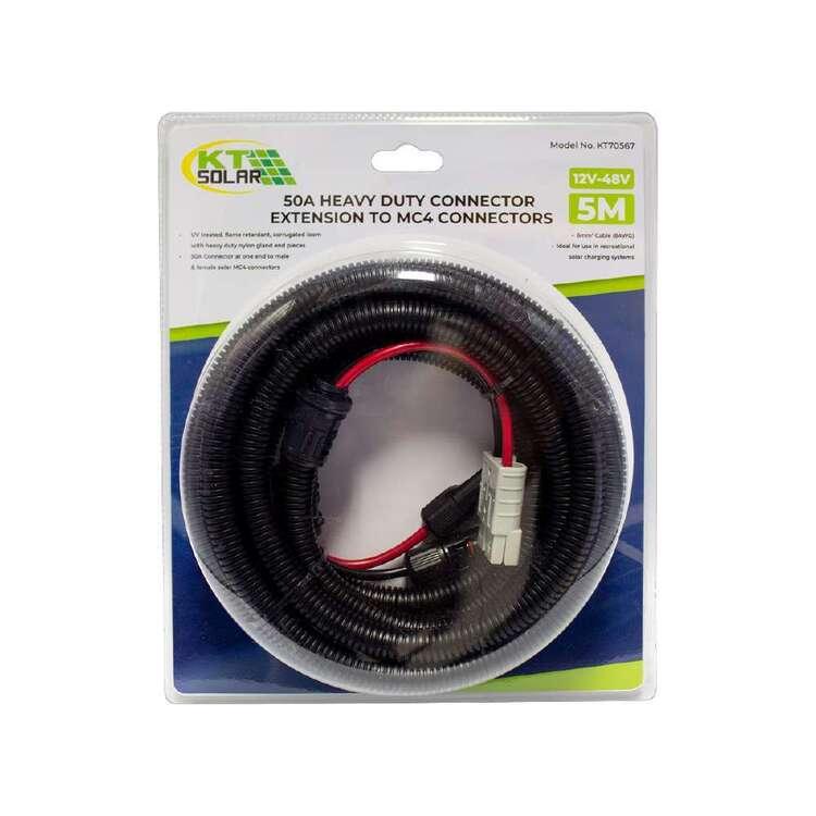 KT 50A Plug To MC4 Plug And Socket 5 Metre