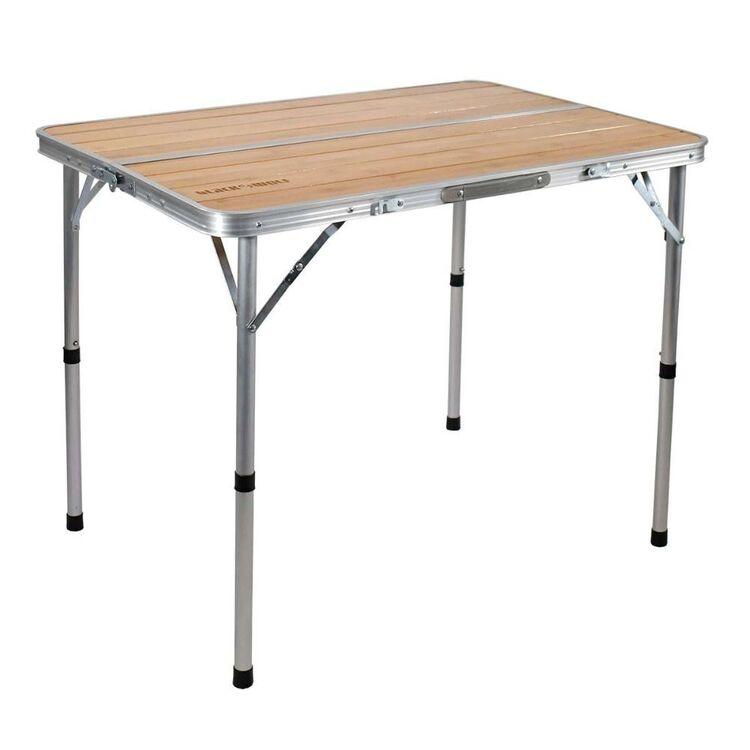 BlackWolf Adjustable Camping Table