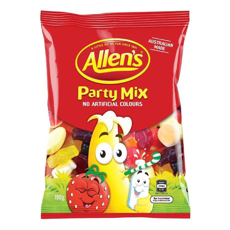 Allen's Party Mix Pack 190g