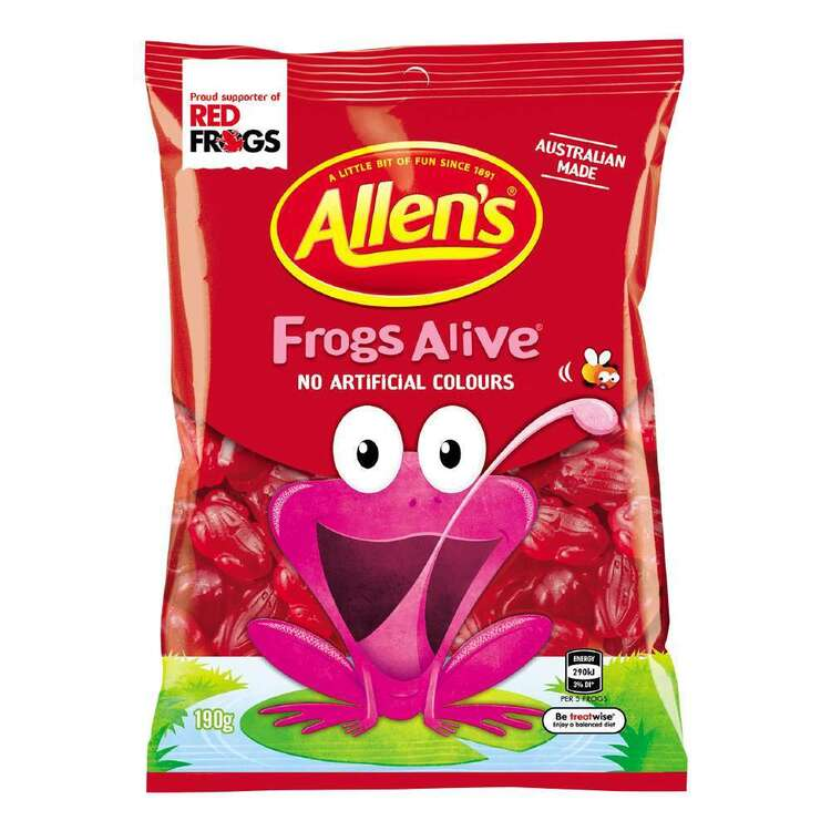 Allen's Frogs Alive Pack 190g