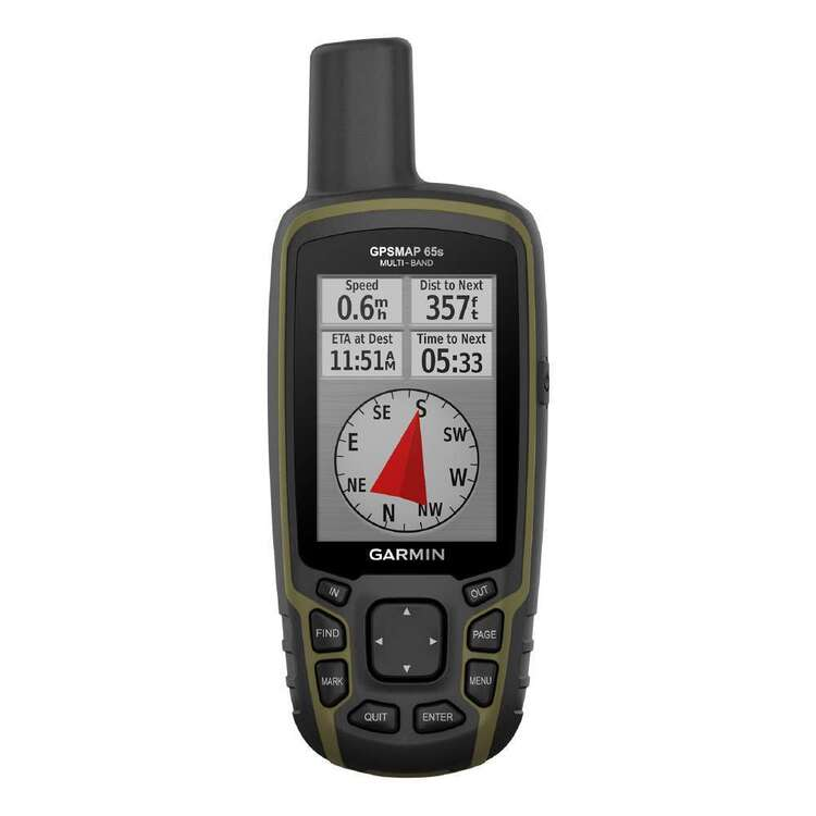 Garmin Handheld 65S GPS Map