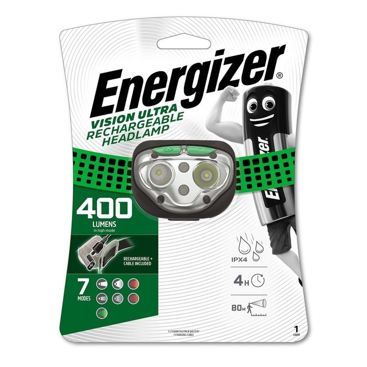 Energizer Rechargeable 400 Lumen Headlamp