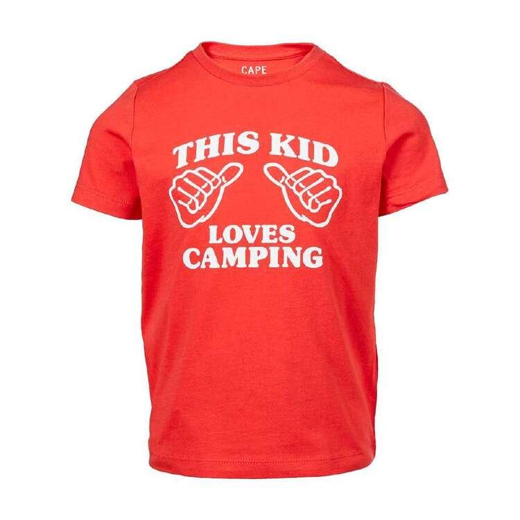 Cape Kids' Love Camping Tee