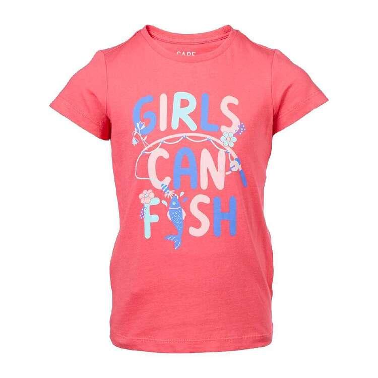 Cape Girls' Fish Tee