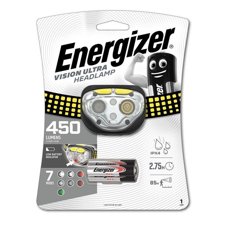 Energizer Vision Ultra 450 Lumen Headlamp
