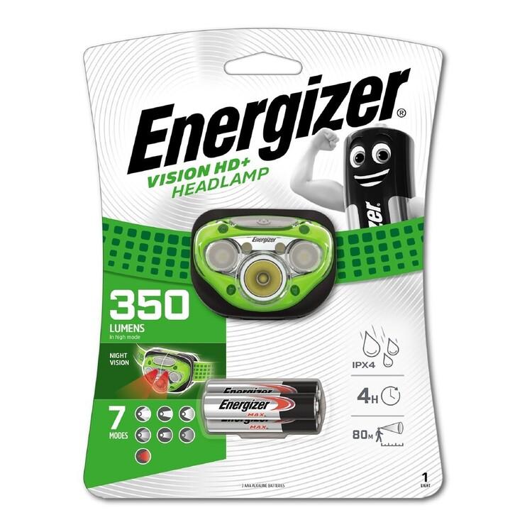 Energizer Vision HD+ 350 Lumen Headlamp