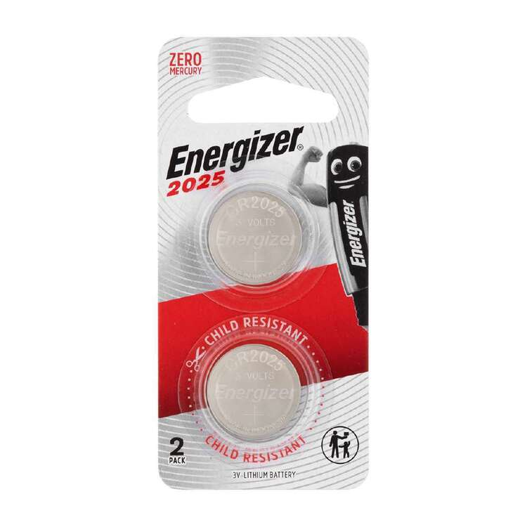 Energizer 2025 Coin Batteries 2 Pack