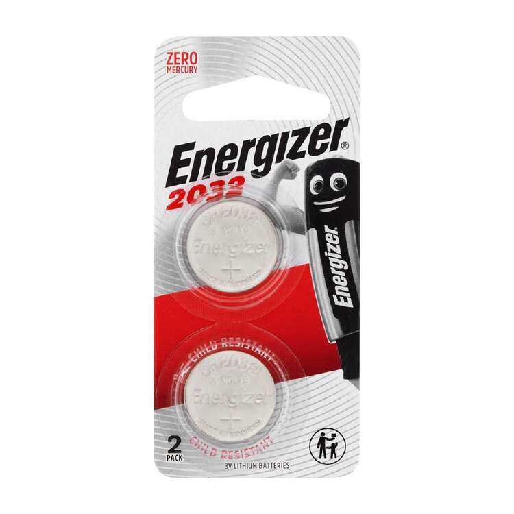 Energizer 2032 Coin Batteries 2 Pack