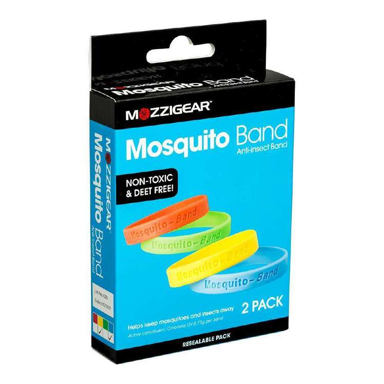 Mozzigear Mosquito Bands 2 Pack