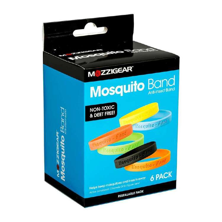 Mozzigear Mosquito Bands 6 Pack