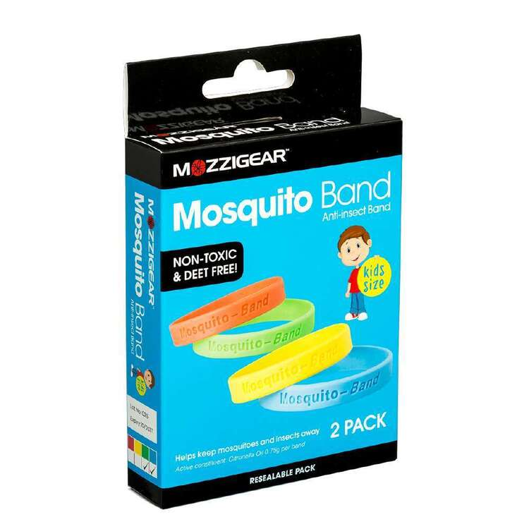 Mozzigear Kids Mosquito Bands 2 Pack