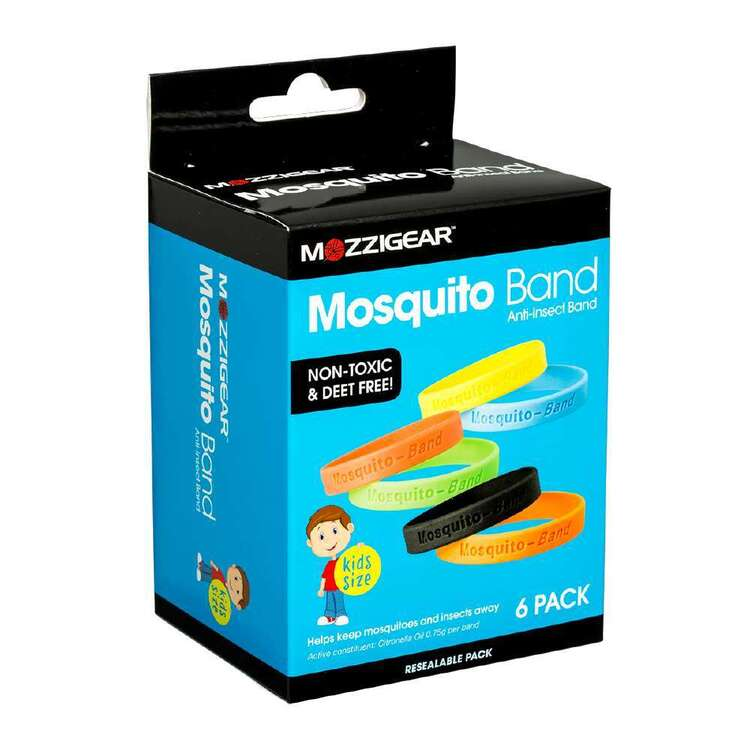 Mozzigear Kids Mosquito Bands 6 Pack