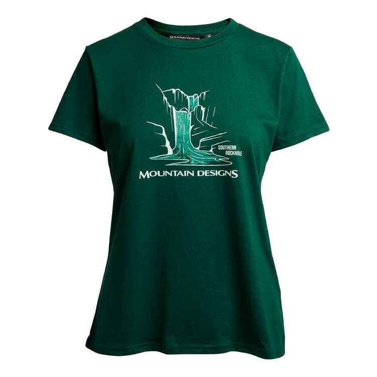 Mountain Designs Women's Terrain Tee Bottle Green