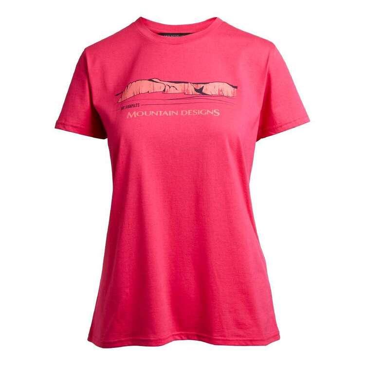 Mountain Designs Women's Terrain Tee Pink