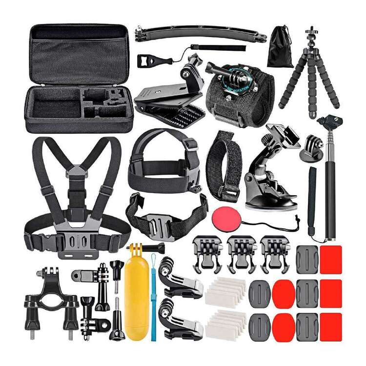 Tripper Action Camera Accessories 50 Piece Pack