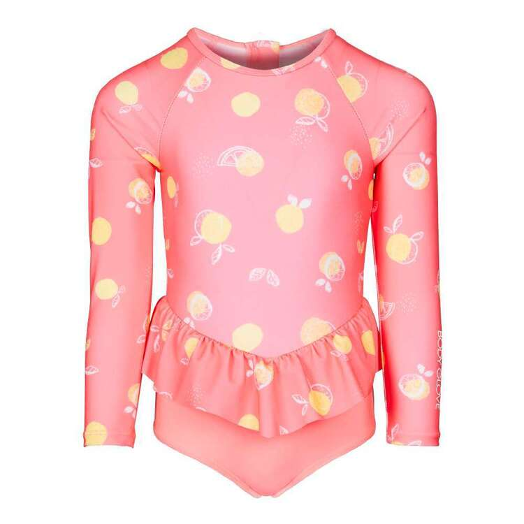 Body Glove Kids' Fruit Printed Frill Swimsuit