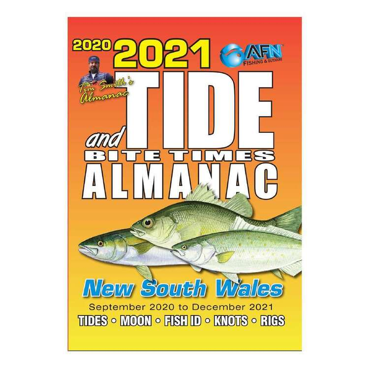 2021 Tide & Bite Times New South Wales