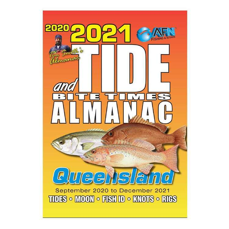 2021 Tide & Bite Times Queensland