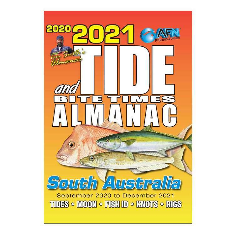 2021 Tide & Bite Times South Australia