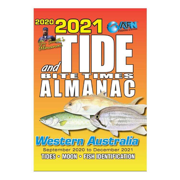 2021 Tide & Bite Times Western Australia