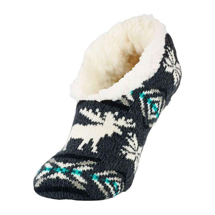 SOF Sole Women's Fireside Moose Slippers