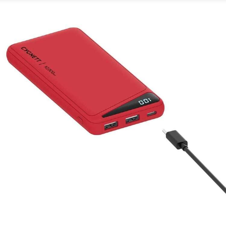 Cygnett Boost 2 Powerbank 10K Red