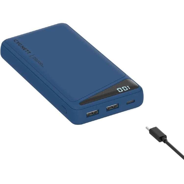 Cygnett Boost 2 Powerbank 20K Blue