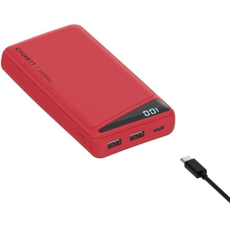 Cygnett Boost 2 Powerbank 20K Red