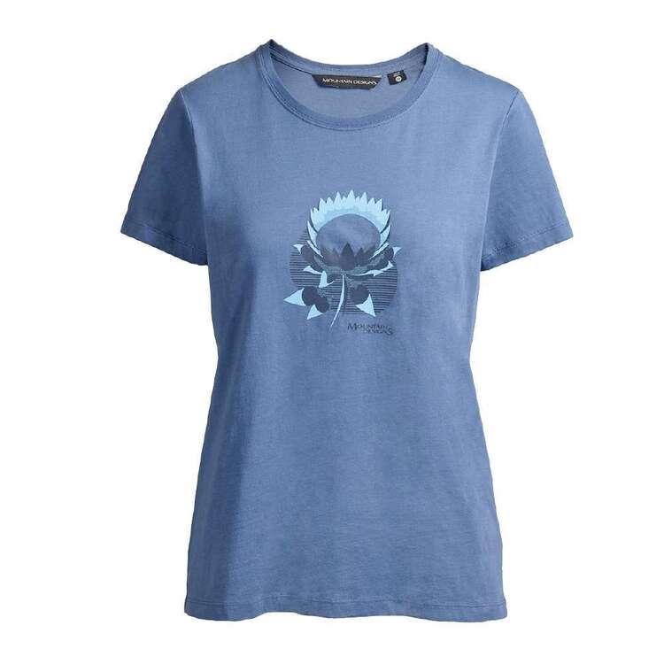 Mountain Designs Women's Australus Moonlight Short Sleeve Tee