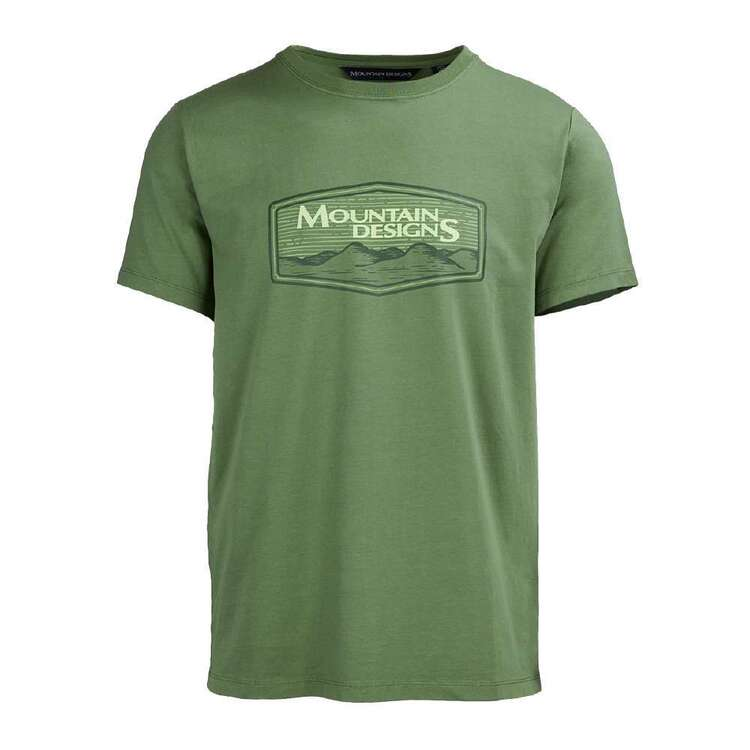 Mountain Designs Men's Heritage Tee Green