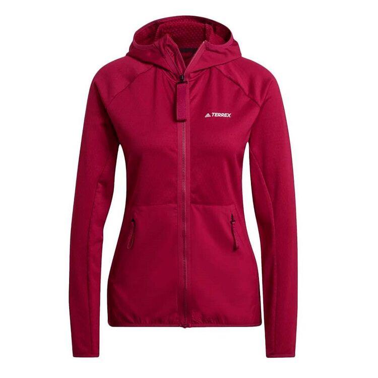 adidas Women's Terrex Tech Fleece Hooded Jacket