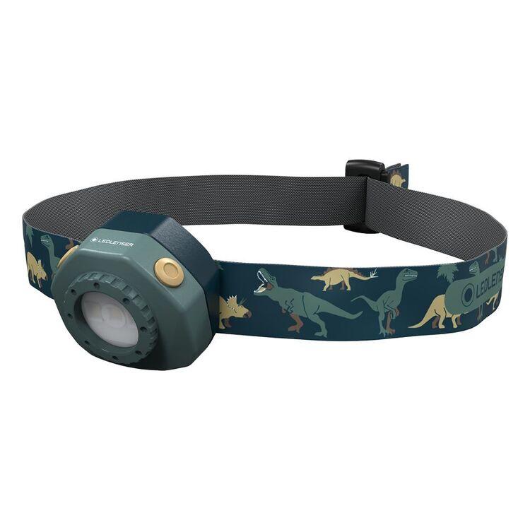 LED Lenser Green 40 Lumen Rechargeable Headlamp
