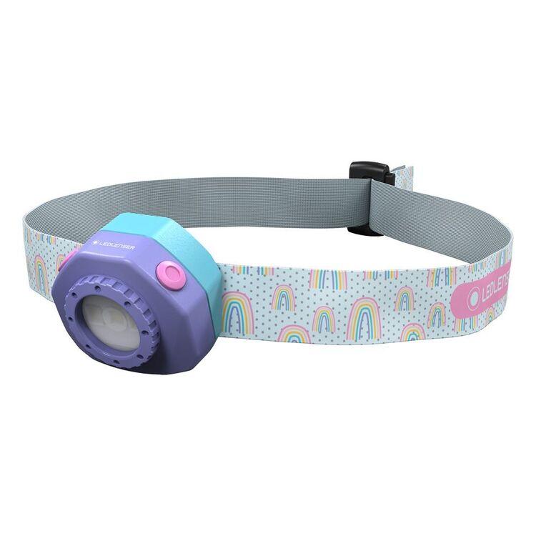 LED Lenser Purple 40 Lumen Rechargeable Headlamp