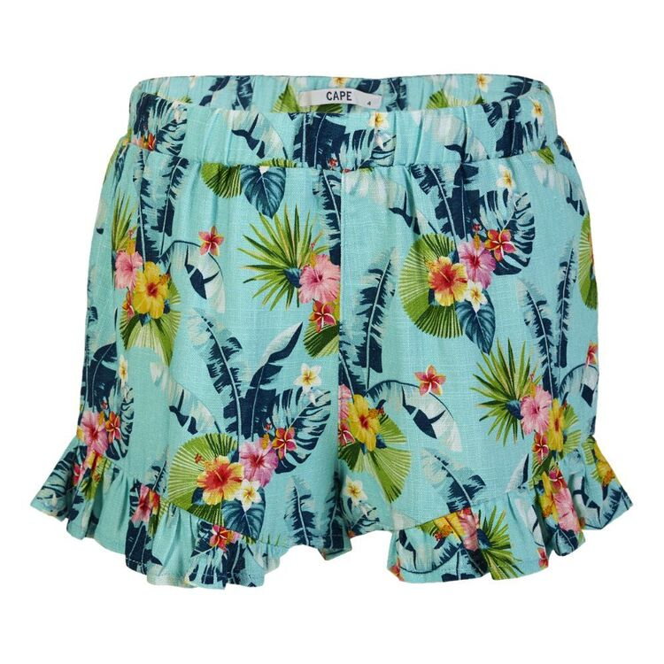 Cape Kids' Garden Floral Frill Edge Shorts