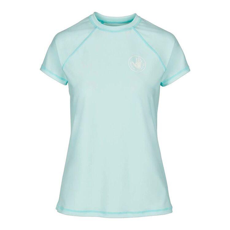 Body Glove Women's Core Relaxed Fit Short Sleeve Rash Vest
