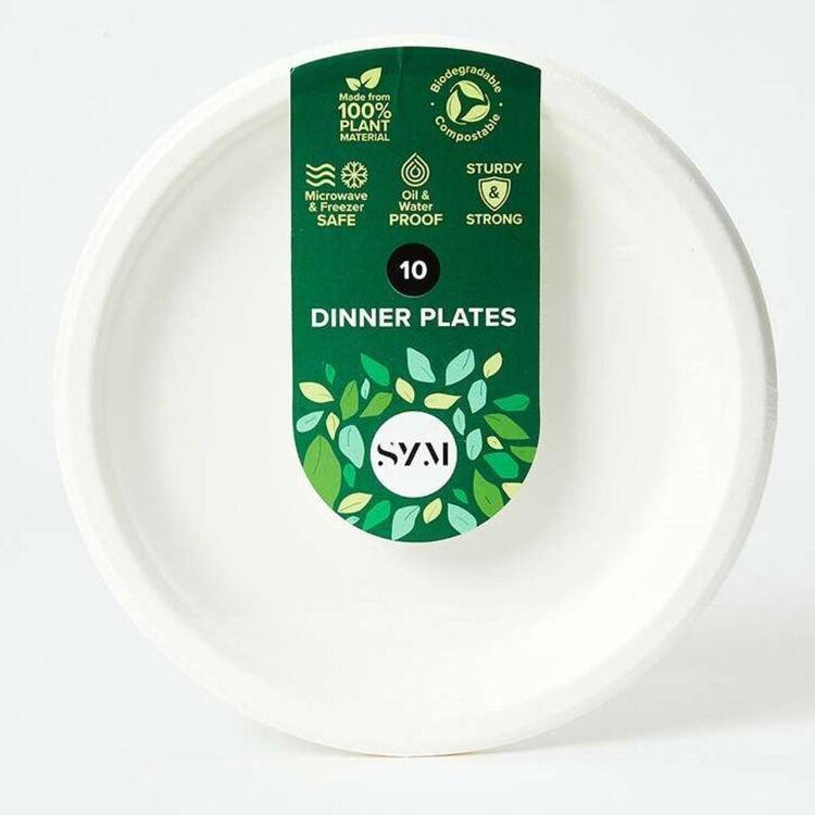 SYM Plant Based Dinner Plates