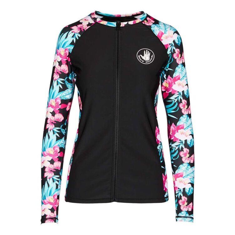 Body Glove Women's Haven Full Zip Long Sleeve Rash Vest